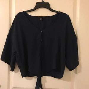 Forever 21 Navy Top